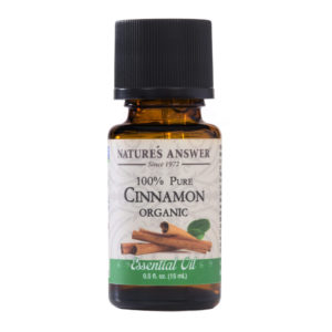 ORGAANILISE KANEELI EETERLIK ÕLI, Nature's Answer Organic Cinnamon, 15ml