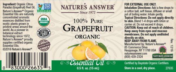 Orgaaniline Greibi eeterlik õli