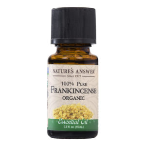 Nature's Answer Organic Frankincense, Orgaaniline Viirukipuu eeterlik õli 15ml