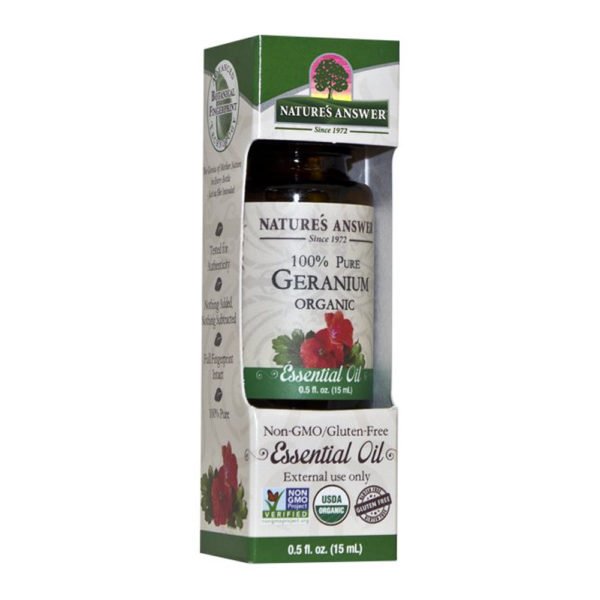 Orgaaniline Geraaniumi eeterlik õli