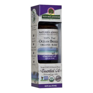 Nature's Answer Organic Ocean Breeze, Orgaaniline Ookeani Värskusega eeterlik õli 15ml