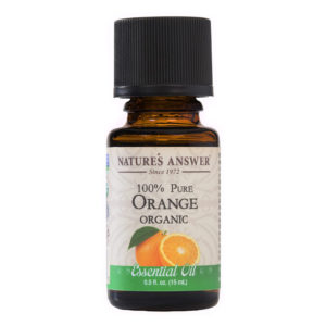 ORGAANILISE APELSINI EETERLIK ÕLI, Nature's Answer Organic Orange, 15ml