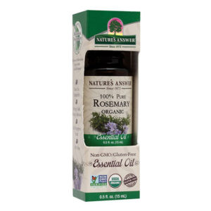 Nature's Answer Organic Rosemary, Orgaaniline Rosmariini eeterlik õli 15ml