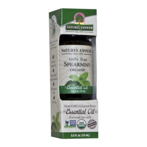 Nature's Answer Organic Spearmint, Orgaaniline Rohemündi eeterlik õli 15ml