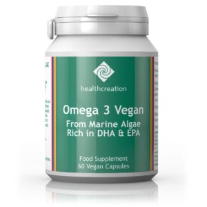 Health Creation Omega 3 Vegan, 60 kapslit