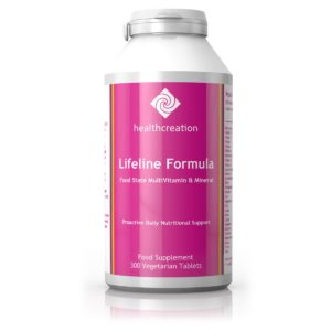 Health Creation Lifeline formula, 300 vegan tabletti
