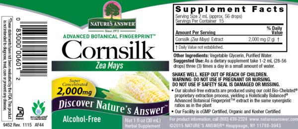 Cornsilk / Maisisiid