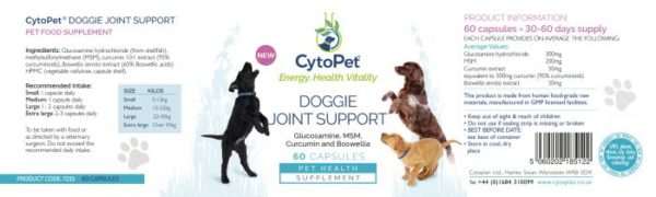 doggie joint support