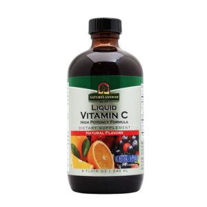 Nature's Answer Liquid Vitamin C,  C-vitamiin vedelikuna, 240 ml