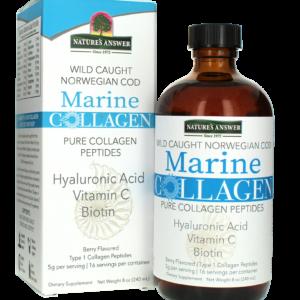 MERELINE KOLLAGEEN, Nature's Answer Marine Collagen Liquid, 240ml