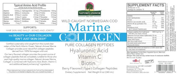Marine Collagen, kollageen