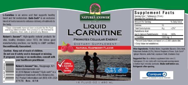L-Carnitine, L-karnitiin