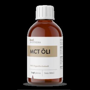 MCT õli – 100% puhas kookosõli, 300ml