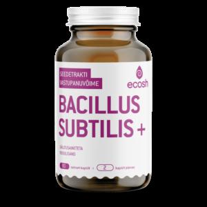 BACILLUS SUBTILIS, Ecosh Life, 90 kapslit