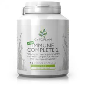 Immuunsüsteemi kompleks meestele ja menopausis naistele, Cytoplan Immune Complete 2, 60 kpsl