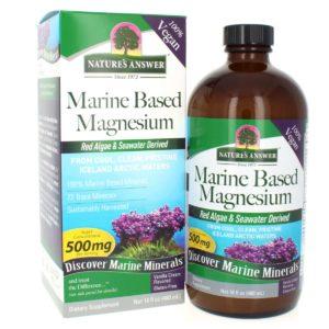 Mereline magneesium, Nature's Answer Marine Based Magnesium, 480 ml