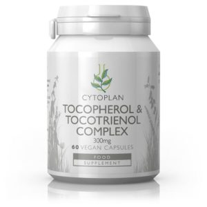 E-vitamiin, Cytoplan Tocopherol & Tocotrienol Complex, 60 kapslit