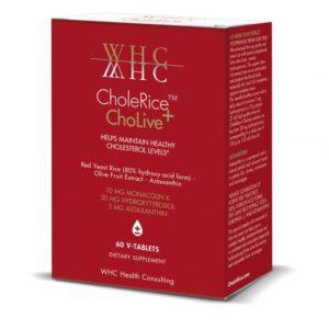 PUNANE RIIS, WHC CholeRice+ChoLive, 60 tabletti