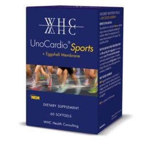 KOMPLEKS LIIGESTELE, WHC UnoCardio Sports, 60 geelkapslit