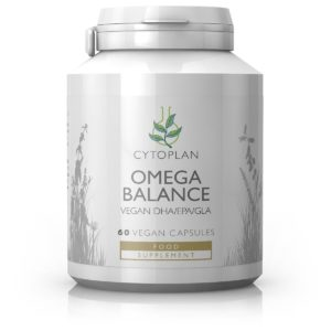 Oomega vitamiin, Cytoplan Omega Balance Vegan, 60 kapslit